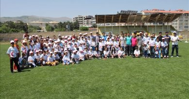 Yaz spor okulları açıldı